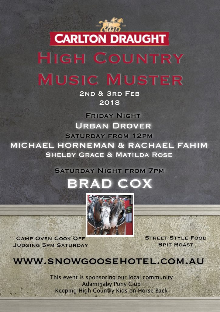 Country Music Muster FINAL x
